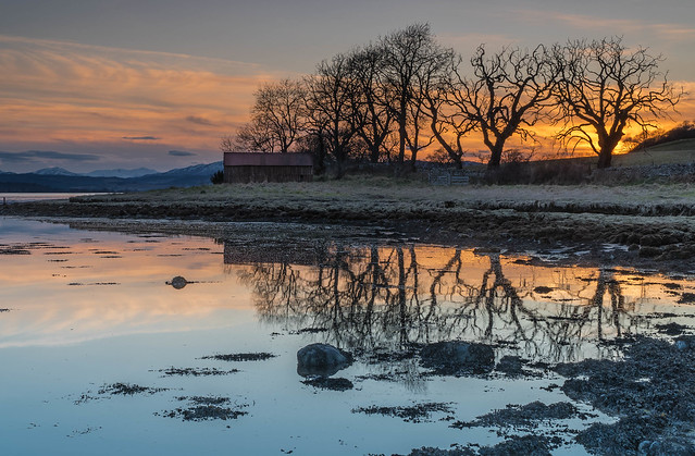 Beauly Firth Sunset.