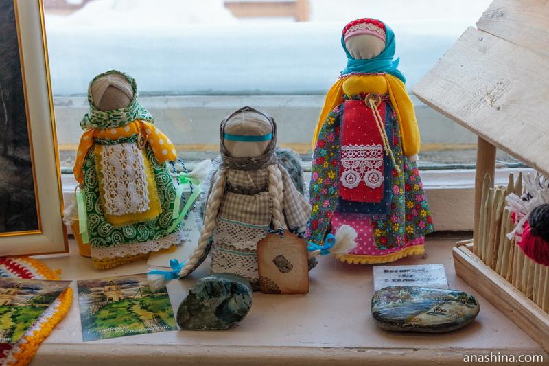 Традиционные куклы-столбушки, Солигалич