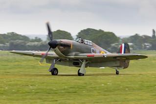P3717/G-HITT Hawker Hurricane Mk.I   by amisbk196