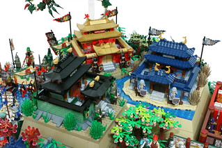 "LEGO ""Romance of Three kingdoms(三國志)"" diorama. | by gkdldis1201"