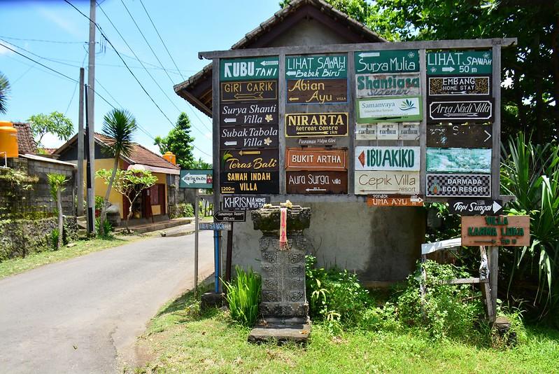 Sidemen hotel offering (Bali, Indonesia 2016)