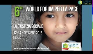 6° World Forum della pace 2016