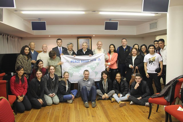 "Argentina-2016-08-31-""Peace Road"" Launched in Argentina"