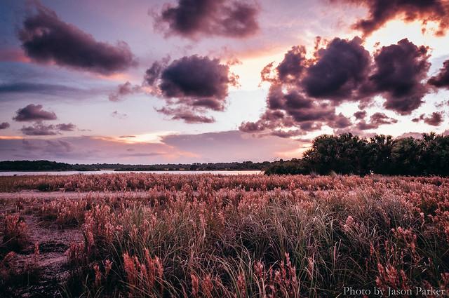 Rattlesnake Island at Twilight