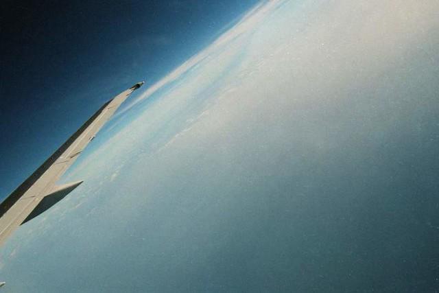 Flight to Copenhagen, August 1999