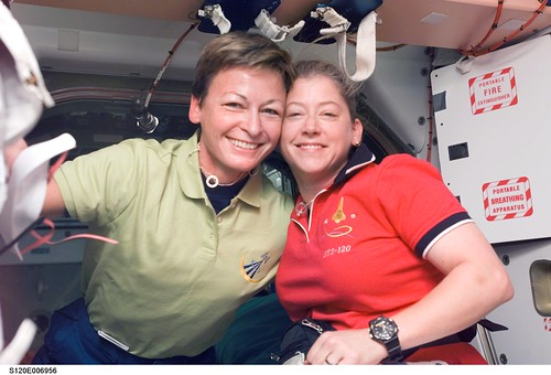 Whitson and Melroy   by NASA on The Commons