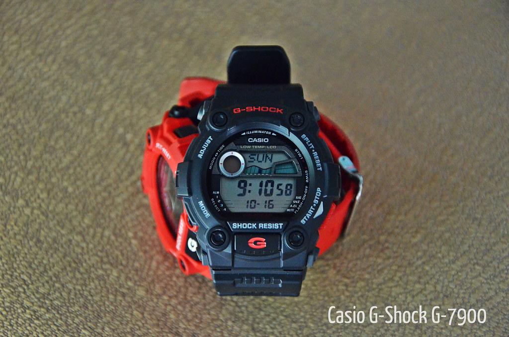 cdfe9e964 Black OR Red ? | Casio G-Shock G-7900-1A n G-7900-4A. | radi0head ...
