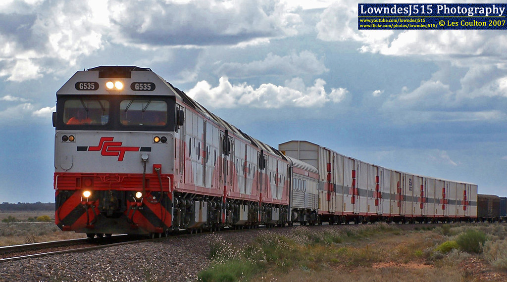 G535, G532 & G533 at Tent Hill by LowndesJ515