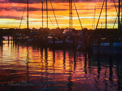 sunset sun west reflection water clouds reflections river boats gold golden bay boat maryland sail chesapeake cloudsstormssunsetssunrises