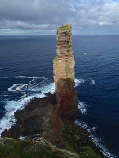 Old Man of Hoy from the viewpoint | by Masa Sakano