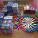 School supplies for children in Ulaan Baatars slums. 2016.