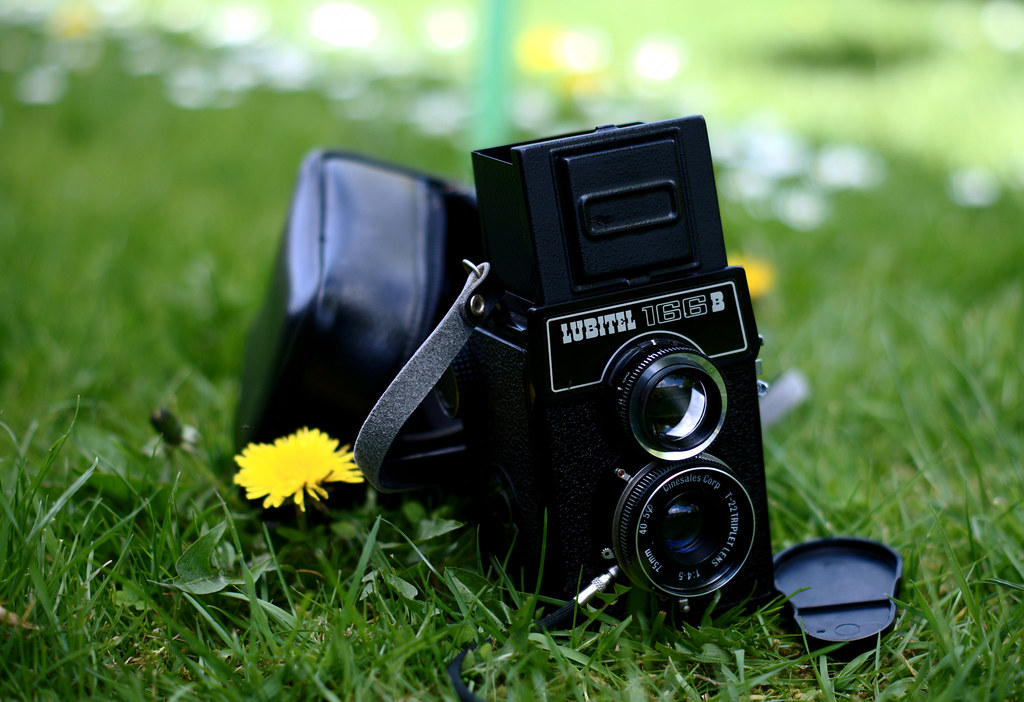 The Lubitel 166B Medium Format TLR Camera