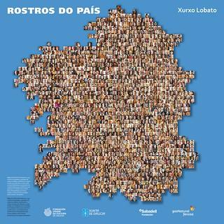 "Mapa ""Rostros do país"" - Copyright Xurxo Lobato | by ateneo fotográfico"
