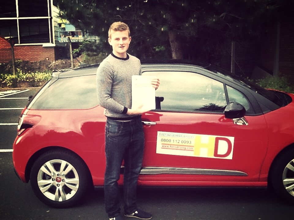 Stuart Passes His Driving Test FIRST Time!