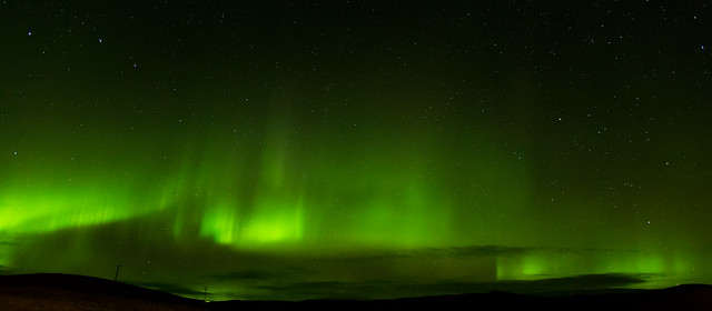 Icelandic Aurora near Vik
