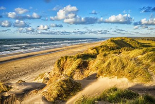#beach #landscape #clouds #strand | by magnetismus