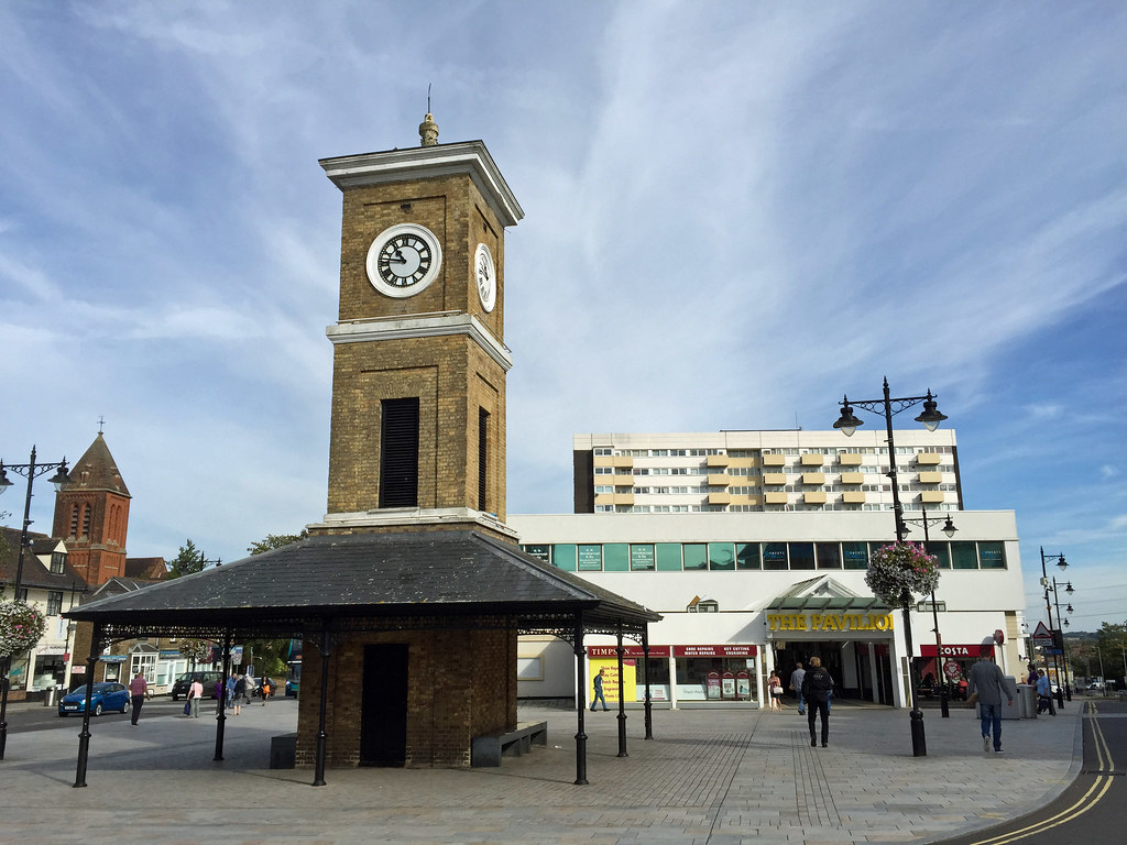 Image result for hoddesdon clock tower