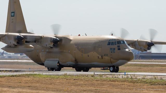 C130H Hercules Royal Saudi Air Force HZ-472