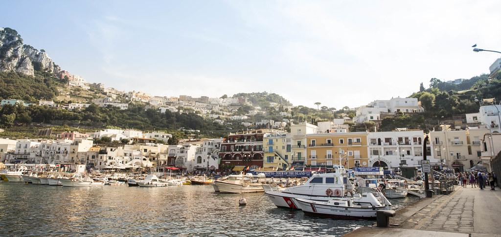 Marina Grande - the Capri harbour