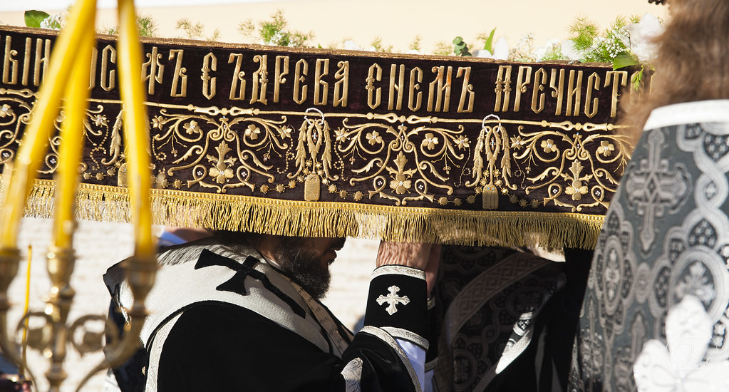 3 мая 2013, Утреня с чином погребения Плащаницы