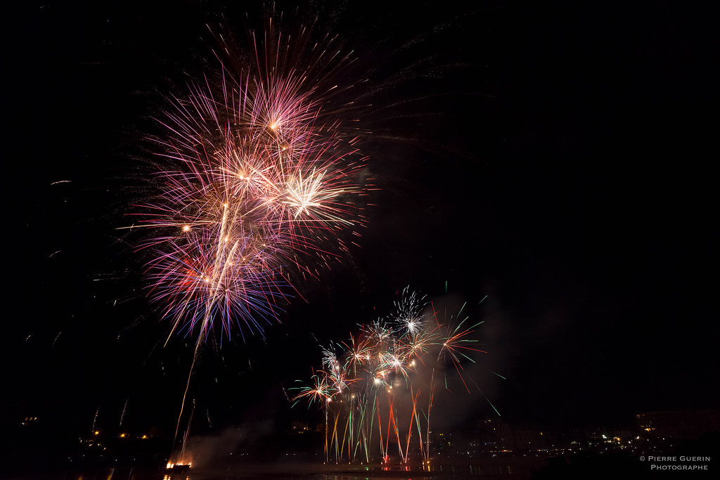 Feu d'artifice Dinard 2016