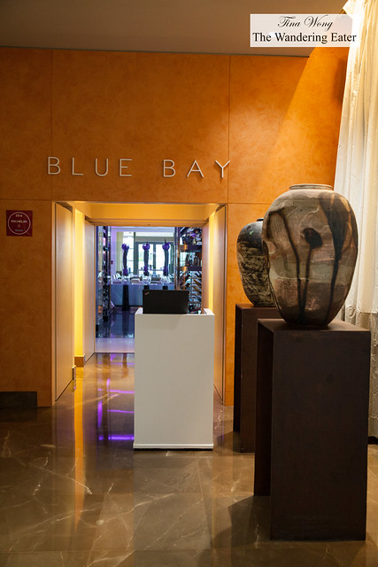 Entrance to Blue Bay Restaurant