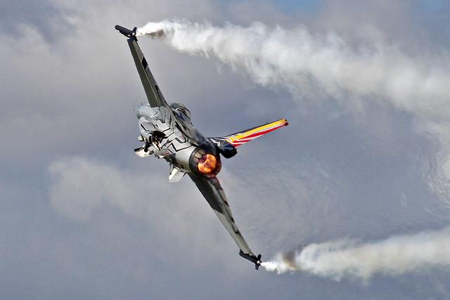 Belgium Air Force General Dynamics F-16AM Fighting Falcon FA-123 ESCF 27-08-16