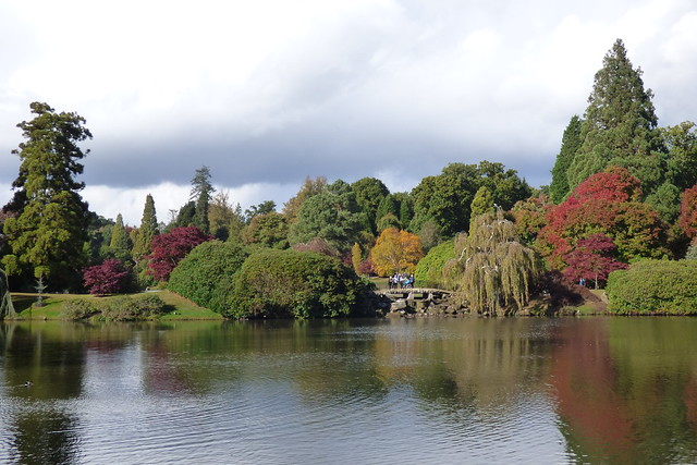The lower Second Lake at Sheffield Park Garden, National Trust