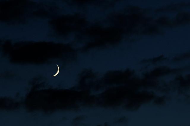 3 days old moon
