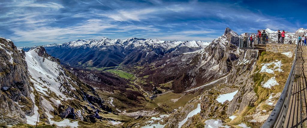 Picos de Europa, mirador de Fuente Dé.