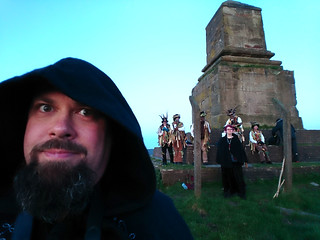 Charlie & Domesday, Beltane at Wedgwood's Monument, Staffordshire
