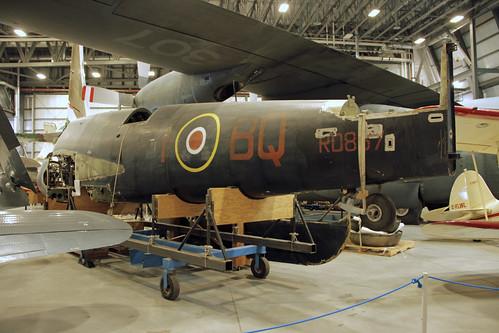 Bristol Beaufighter T.F.X. at the CASM, Ottawa