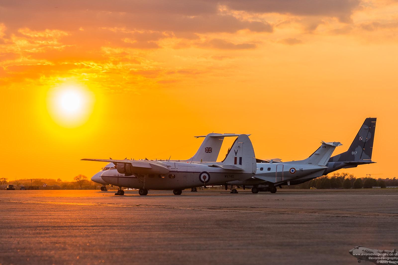 RAF Northolt Nightshoot XXIVa April 2018