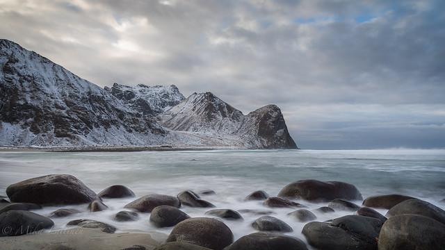 Artic beach