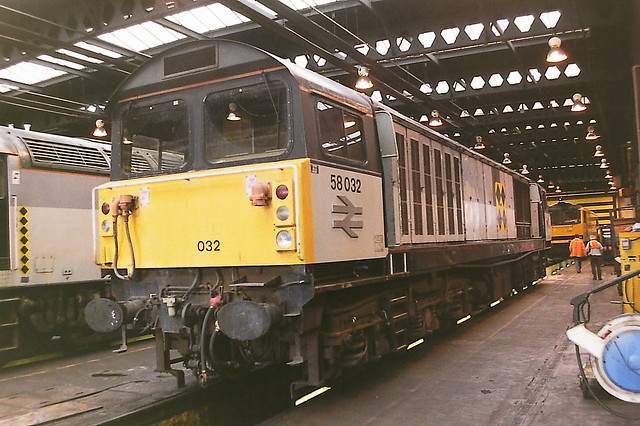 BRITISH RAIL 58032