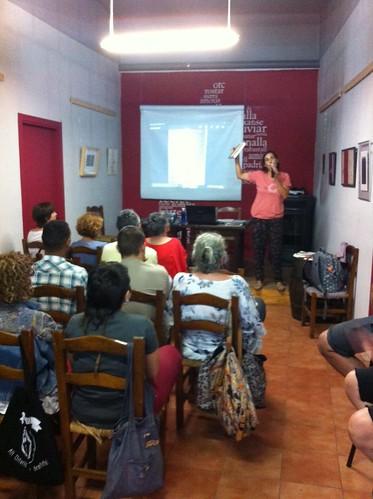 Fotografia de la Tertúlia-xerrada sobre Neus Català, supervivent dels camps d'extermini nazis (Alt Urgell, 2016) | by comunistes