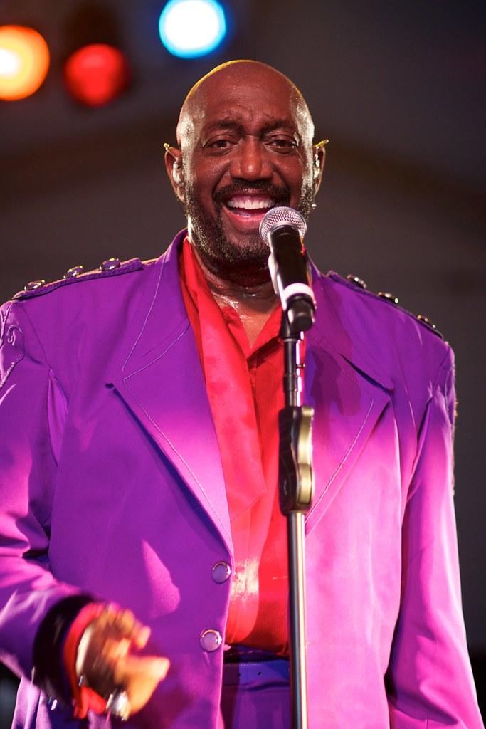 Otis Williams - The Temptations - Marin County Fair 2012
