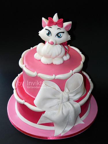 Aristocats Marie Cake | by Torta Od Snova
