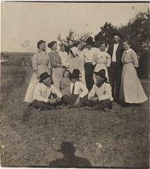 A Western Family - Small Vernacular Photograph