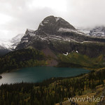 Grinnell Lake with Angel Wing