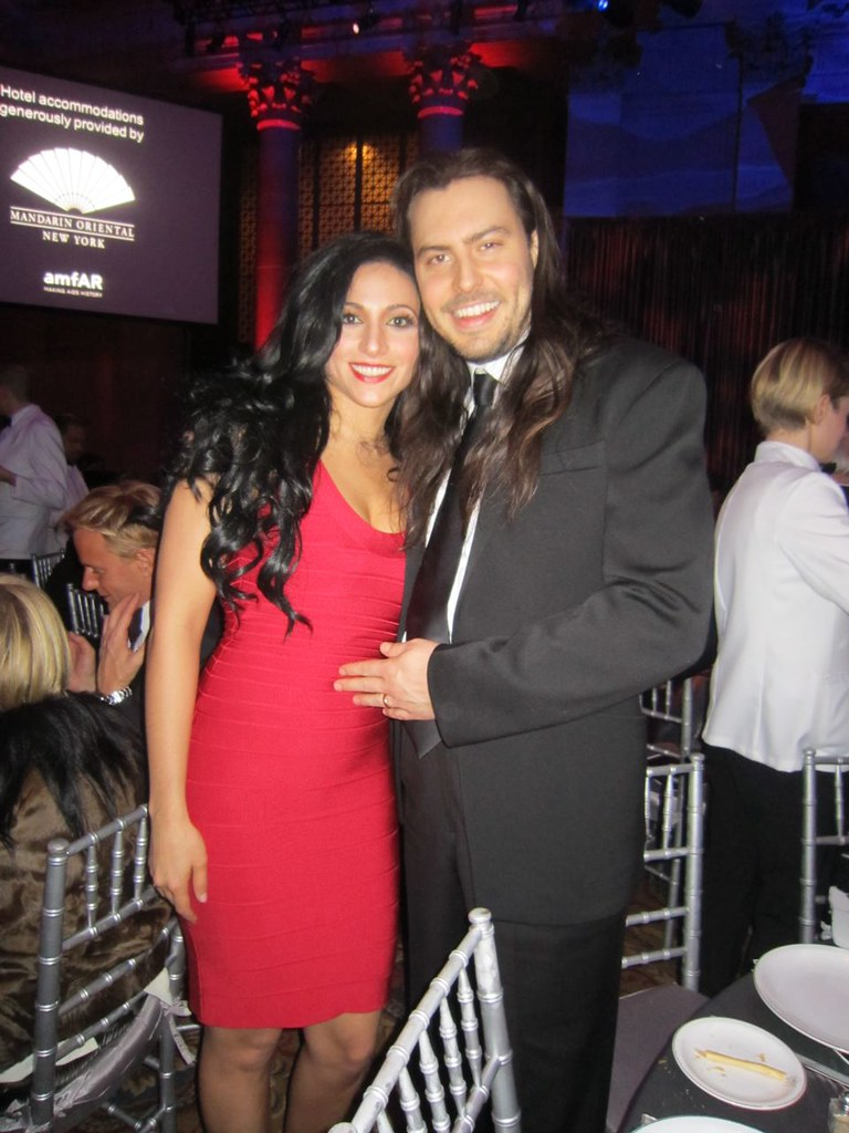 Andrew W.K. with sexy, Wife Cherie Lily