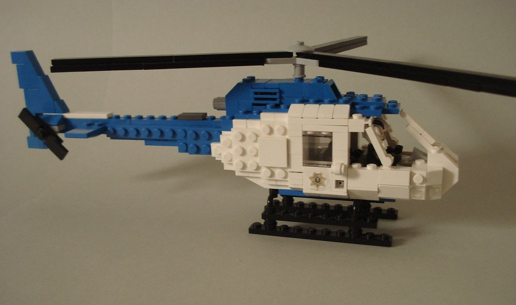 Police helicopter WIP (2)