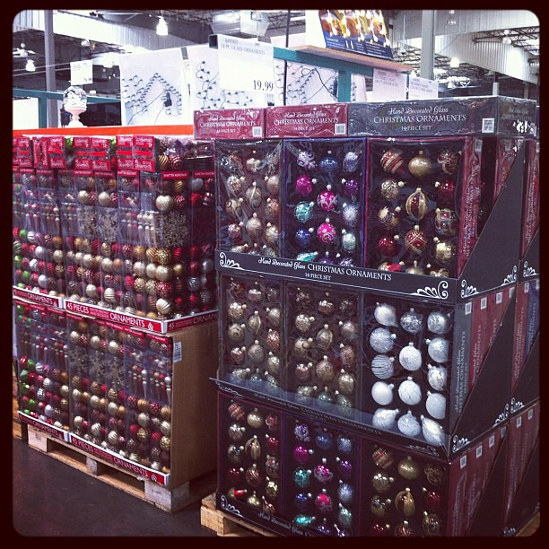 Seriously!? Christmas Decorations In August? Costco.