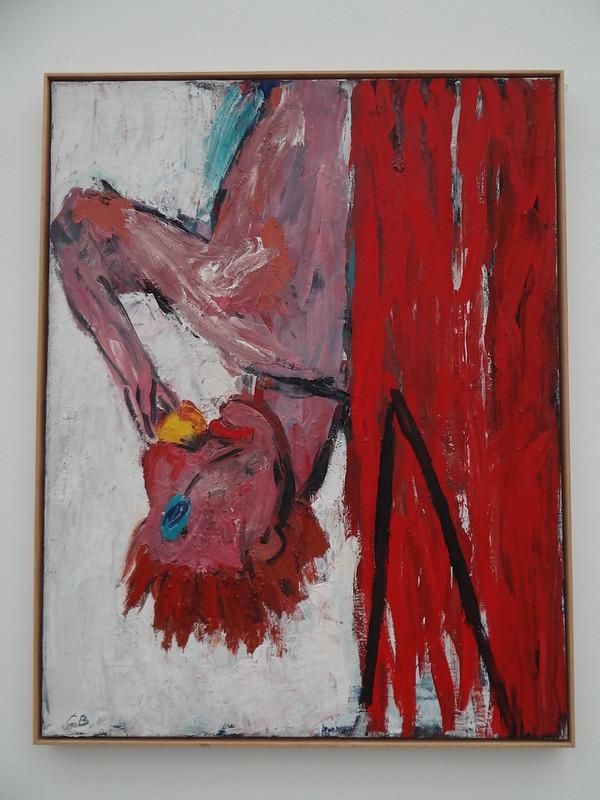 Orangenesser IV (Georg Baselitz) - Pinakothek der Moderne - München