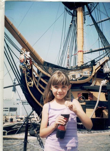 Chloe. HMS Victory