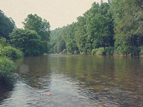 summer mountains water creek river virginia rocky vintaged carrollcounty blueridgehighlands bigreedisland