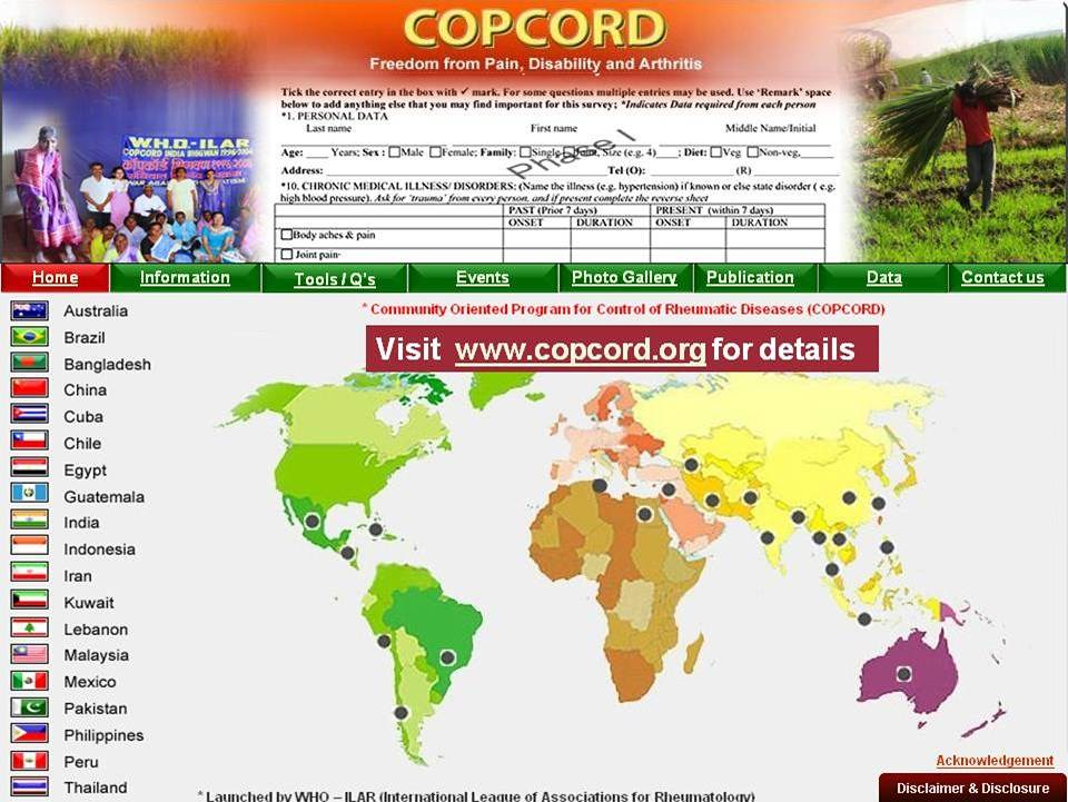 COPCORD 2 | American College of Rheumatology | Flickr