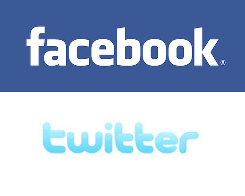 Facebook and Twitter, From CreativeCommonsPhoto