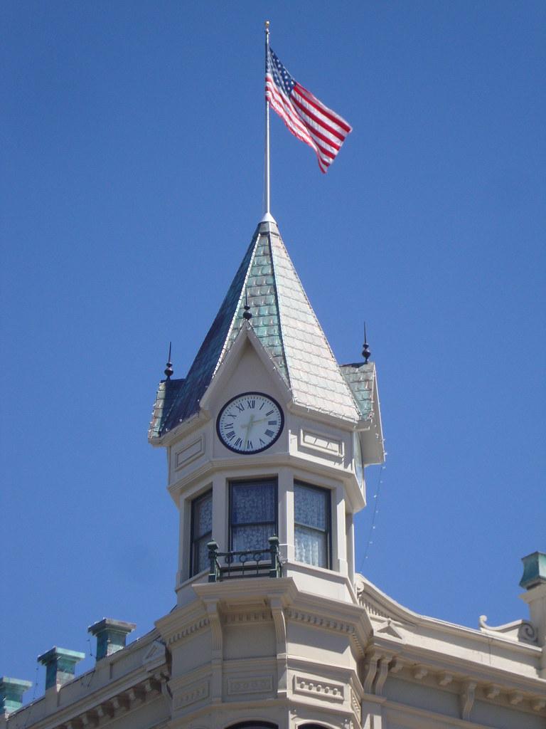 Geiser Grand Hotel Tower Baker City Oregon Baker City I Flickr