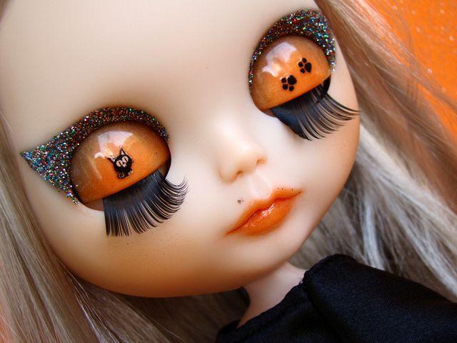 Custom Blythe doll witch
